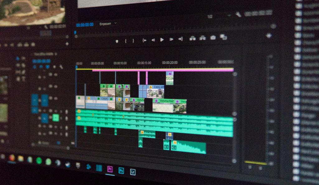 Editing the Footage