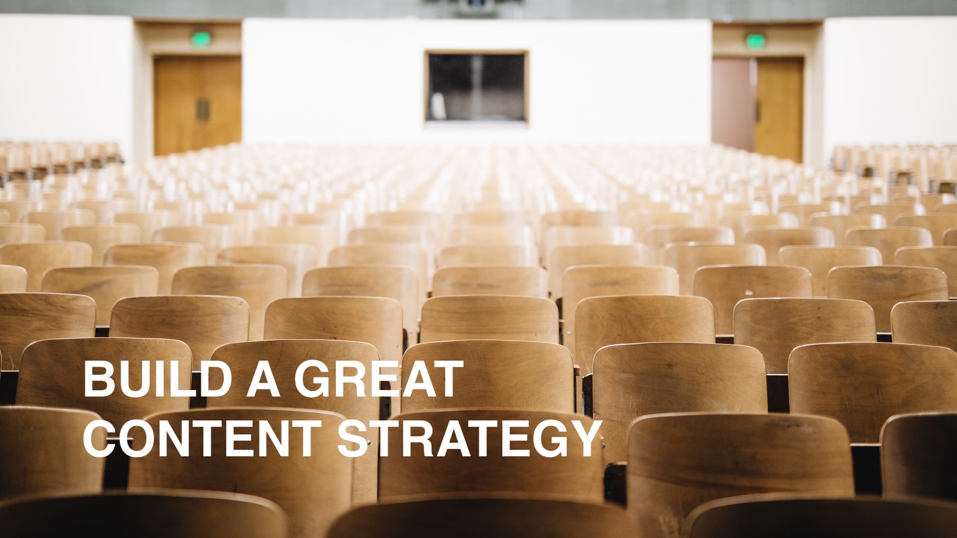 Education Video Production - Content Strategy