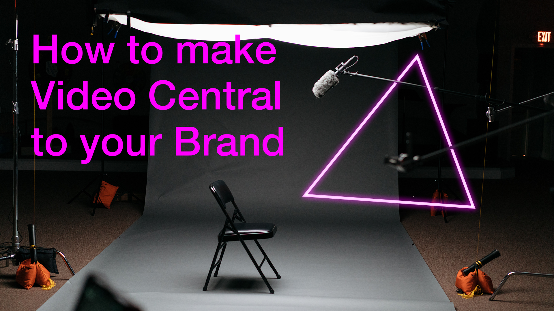 How to make video central