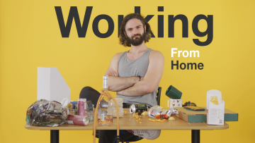 Working From Home Video