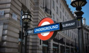 London's underground subway