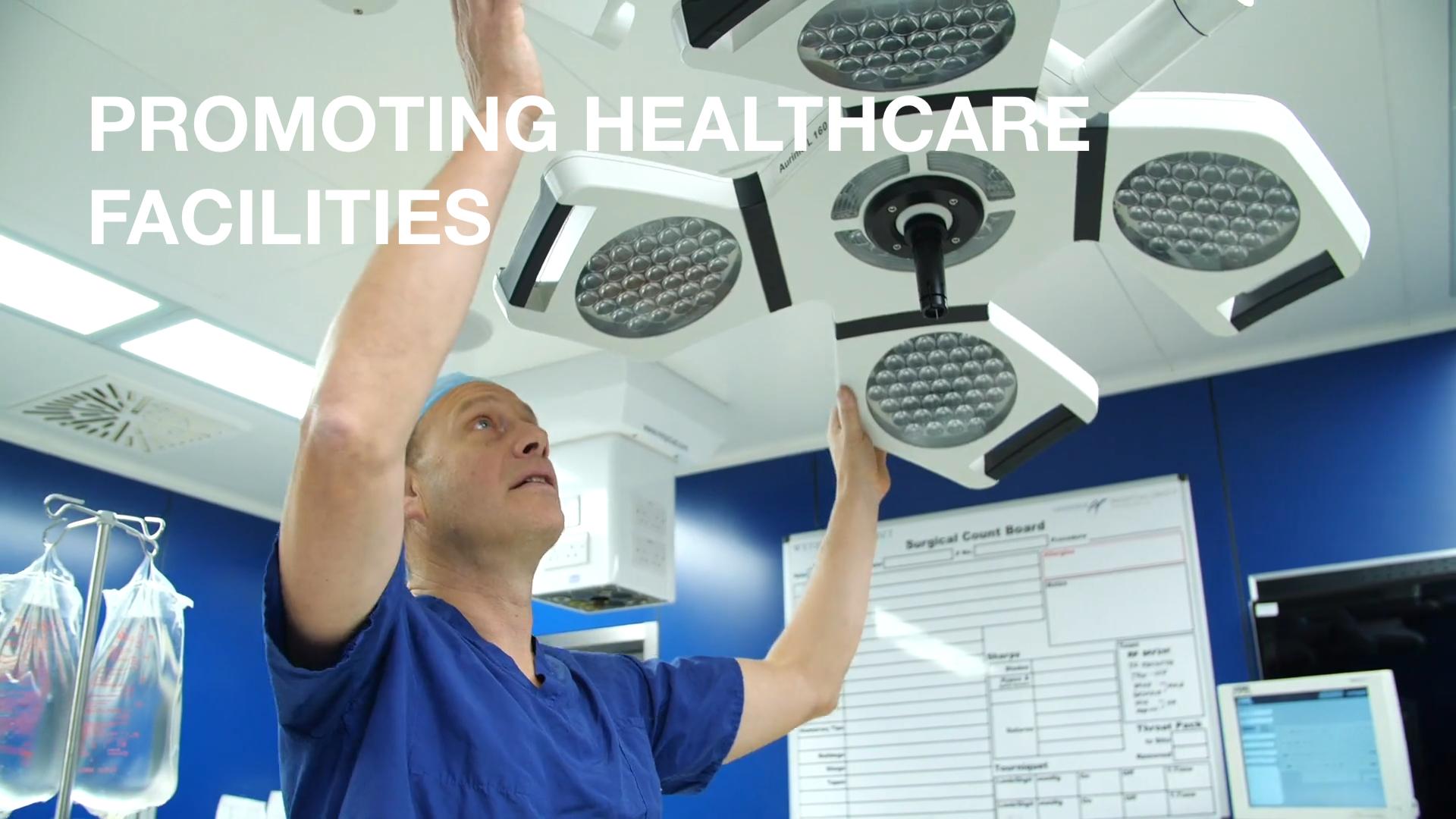 Promoting Healthcare Facilities