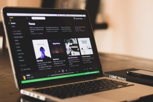 Streaming music online