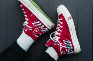 Coca Cola branded trainers