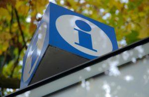 Information centre sign