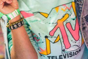 MTV television T-shirt