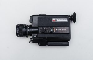 Classic Canon video camera